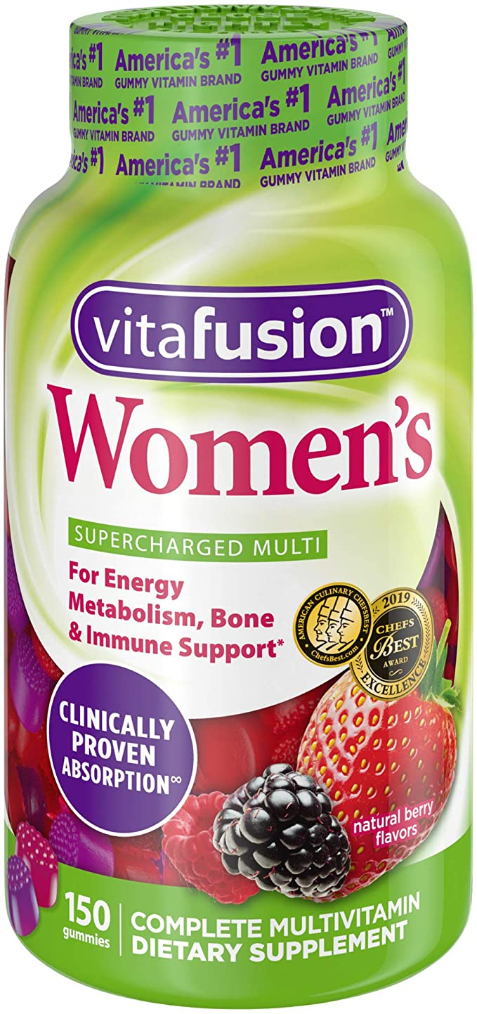 Vitafusion Women's Gummy Vitamins, 150 Count Health