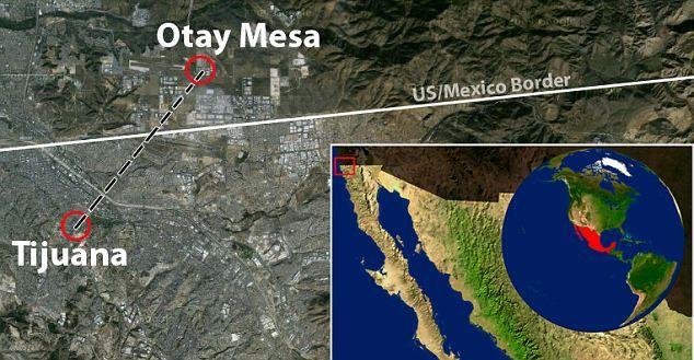 Found Beneath The Mexico U S Border The Hi Tech Drug Tunnel With