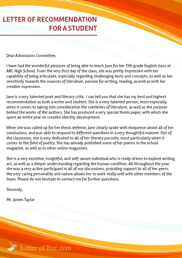letterofrec com  writing