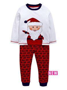 ladybird boys santa ho ho ho pyjamas 2 - Santa Hohoho 2