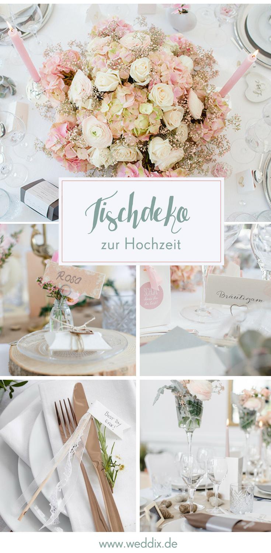 Rosa Romantisch Modern Schonste Tischdeko Fur Eure Hochzeit