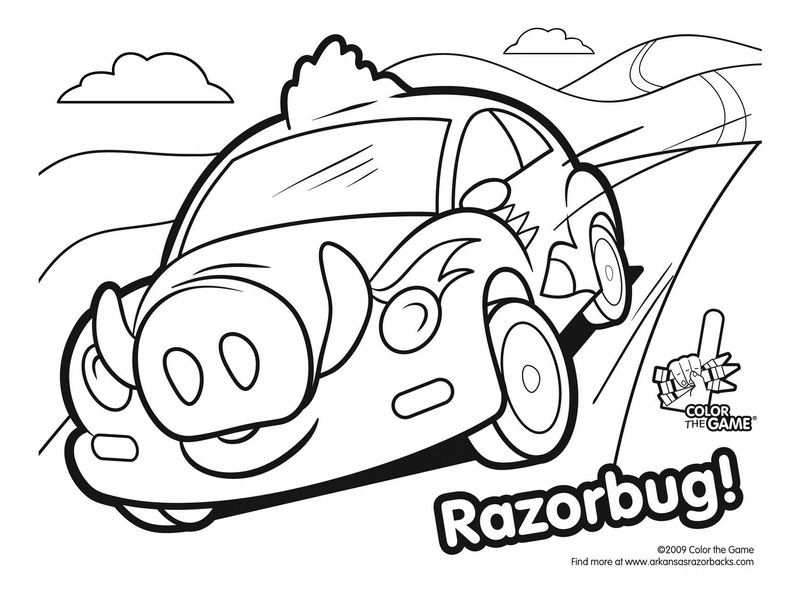 arkansas football coloring pages....oh they have an lsu