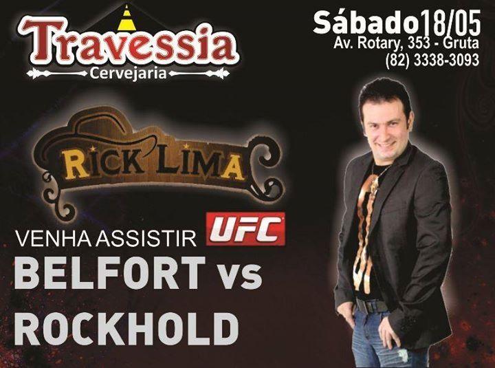 #UFC no Travessia Cervejaria.