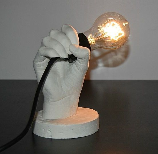 Hand Lamp Holder Lamp Holder Lamp Novelty Lamp