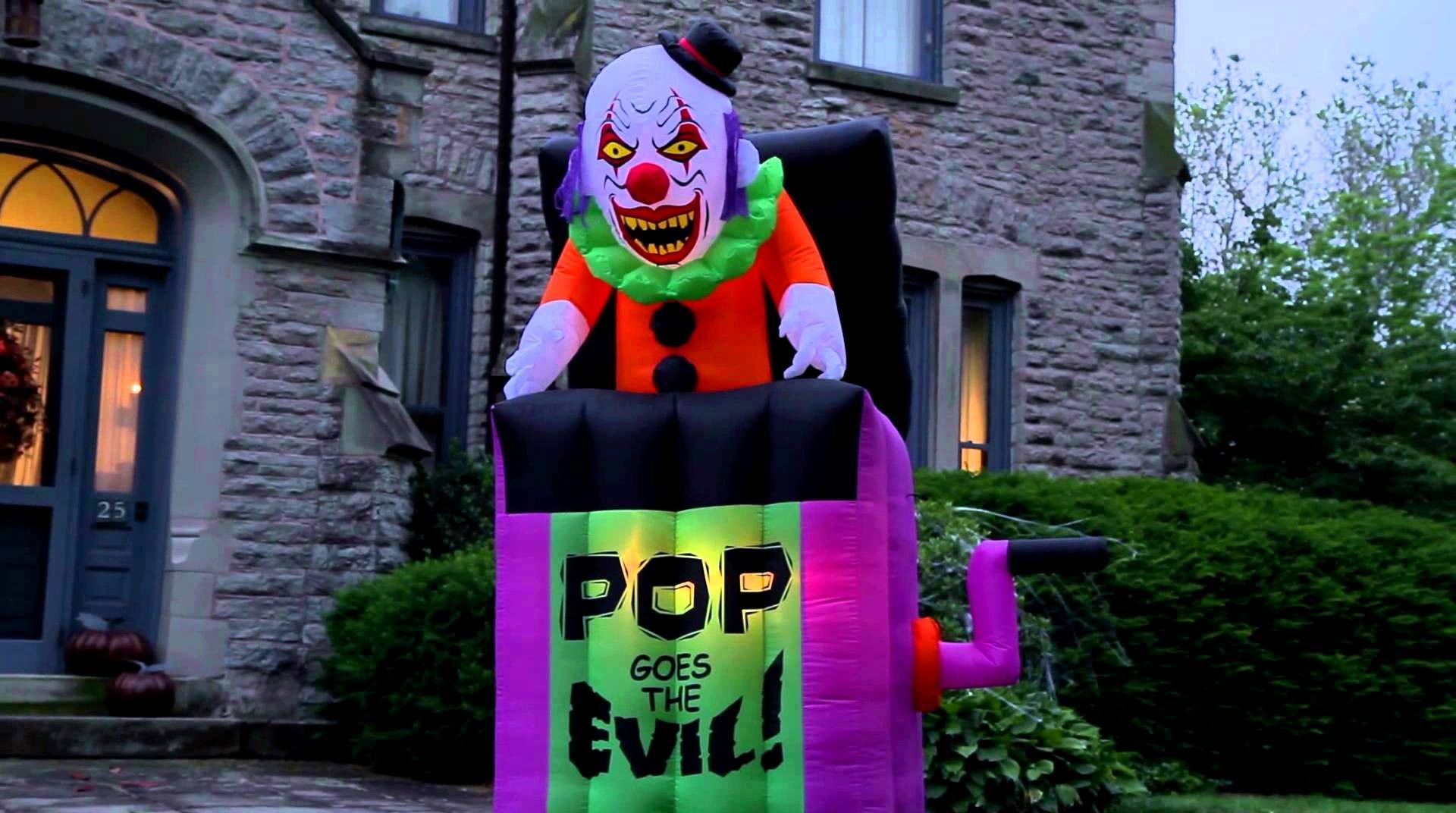 Inflatable Pop Goes The Evil