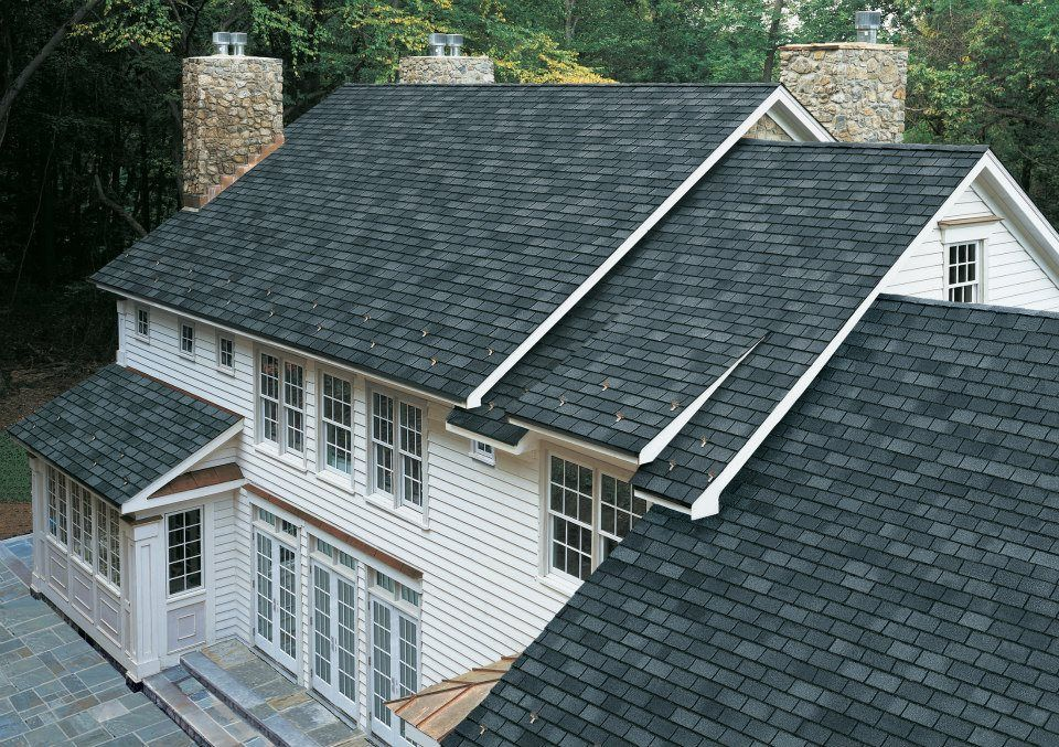 Best Gaf Grand Slate Shingles In Welsh Gray Gaf Asphalt 400 x 300