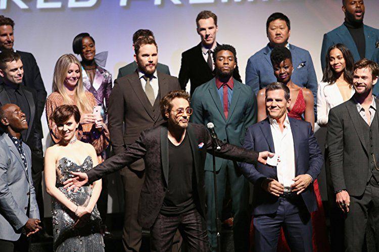 Elizabeth Olsen Marvel Actors Robert Downey Jr Avengers Cast