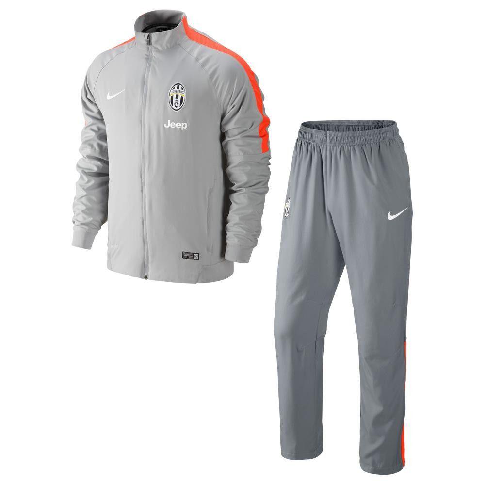 juventus trainingspak woven nike squad 14 15 grey hyper crimson voetbalshop be sportkleidung kleidung sport pinterest