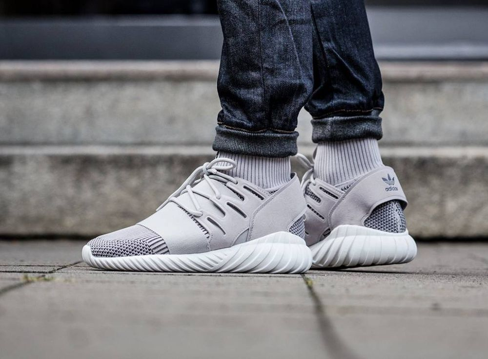 Adidas Tubular Doom Primeknit 'Clear Granite' post image