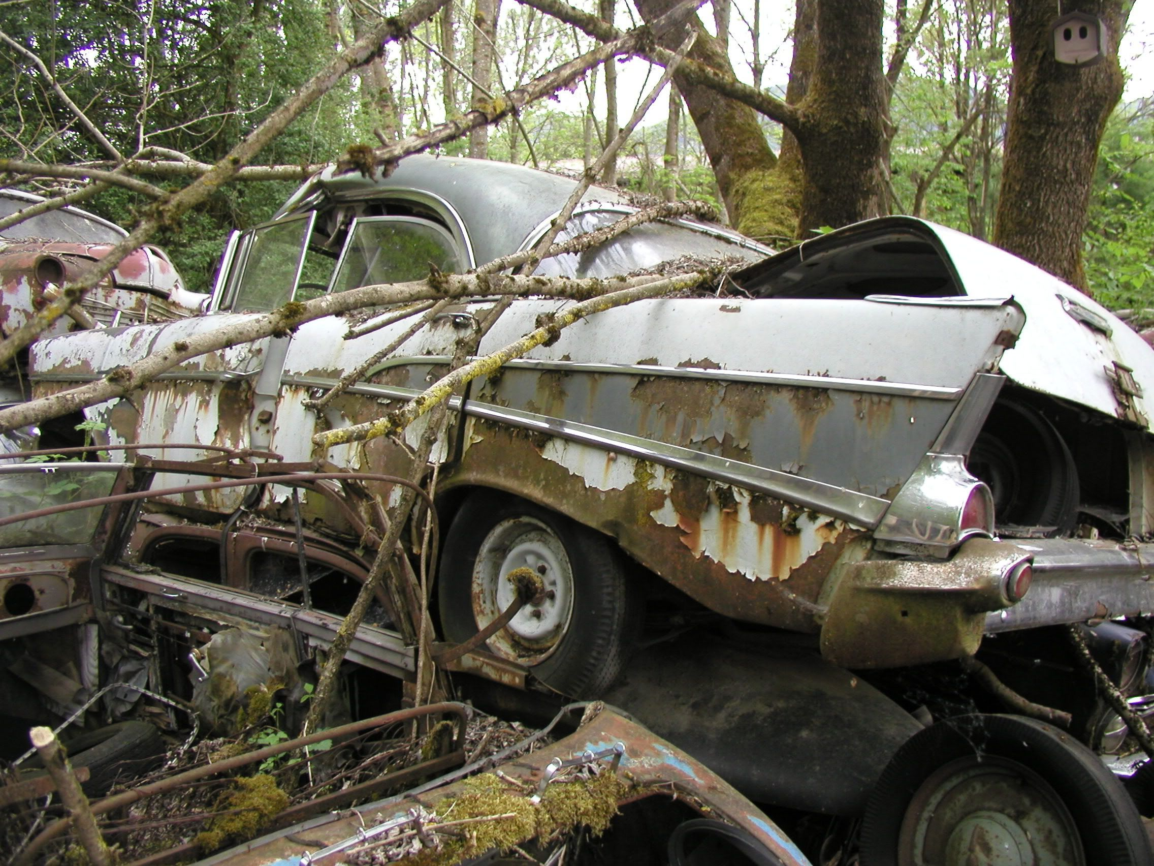 Pin By Patrick Yell On Salvage Yards Abandoned Cars Junkyard