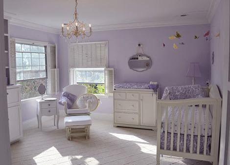Dormitorios De Bebes Color Lila Dormitorios Colores Y Estilos Cuartos De Bebe Nina Decoracion Habitacion Bebe Nina Habitacion Bebe Nina