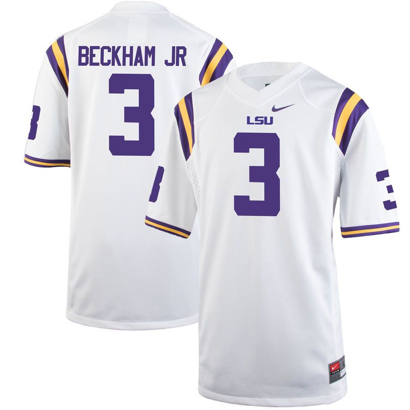 first rate ee7e8 a852b Odell Beckham Jr LSU Tigers Nike Youth Alumni Game Jersey ...