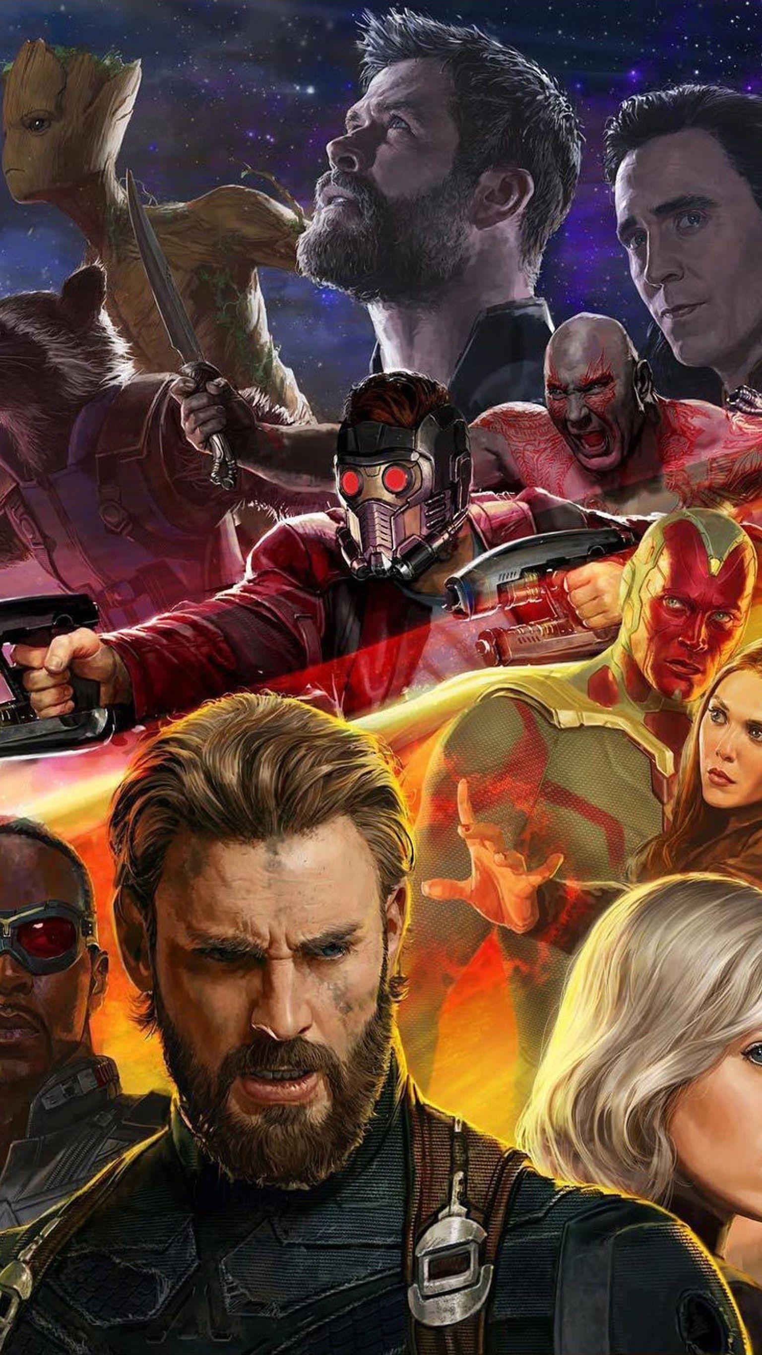 Avengers Infinity War 2018 Phone Wallpaper Marvel Pinterest