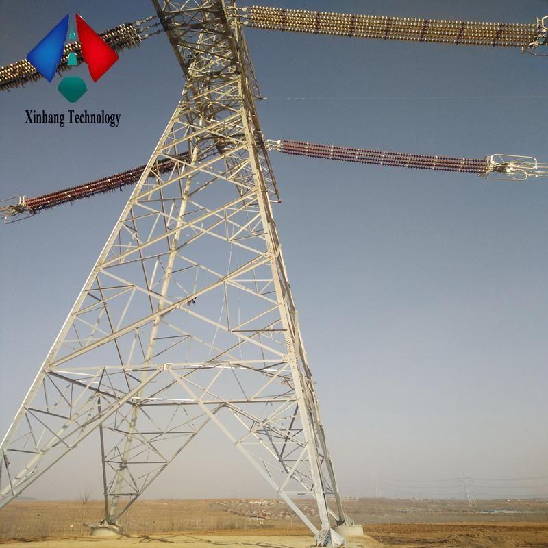 High Voltage Electrical Transmission Tower 138kv 110kv 132kv 10ft