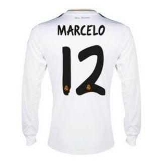 31796c1a48caf Manga Larga · Italia · Nueva Camiseta de MARCELO del Real Madrid ML Primera  2013-2014