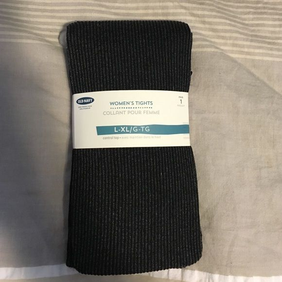 NWT Old Navy Tights NWT Old Navy tights in gray Old Navy Accessories Hosiery & Socks