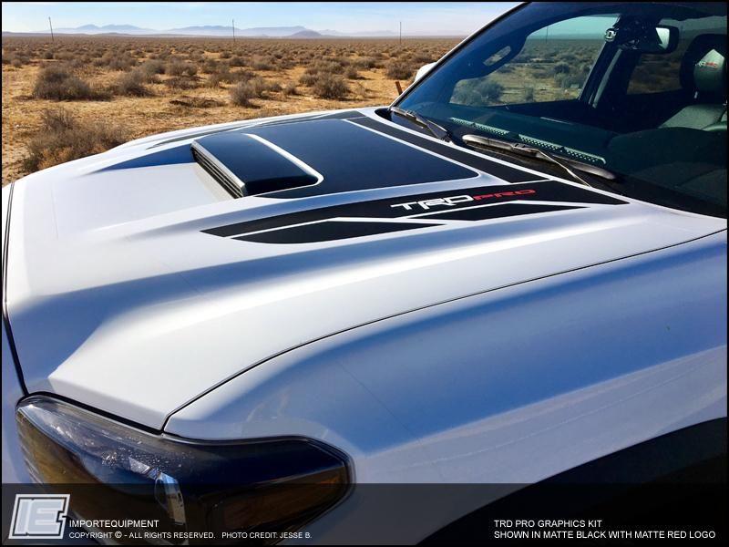 Toyota TRD PRO Graphics Kit Fits 2016 2017 2018