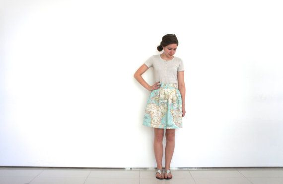 World map skirt in cotton blue world map fabric atlas skirt world map skirt in cotton blue world map fabric atlas skirt bridesmaid skirt kitsch skirt in map fabric spring skirt map clothing gumiabroncs Choice Image