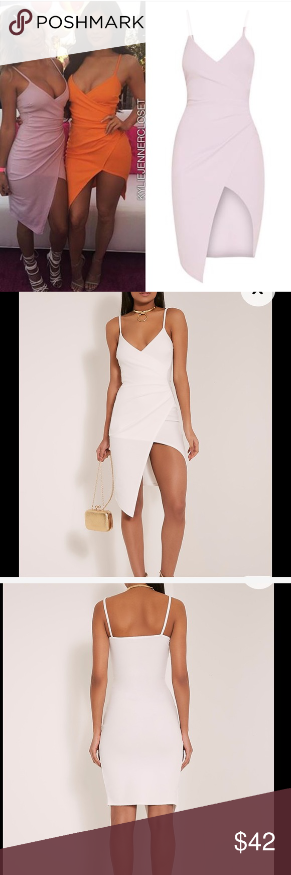 NWT Kylie Jenner Wrap Dress This dress is NWT & has never