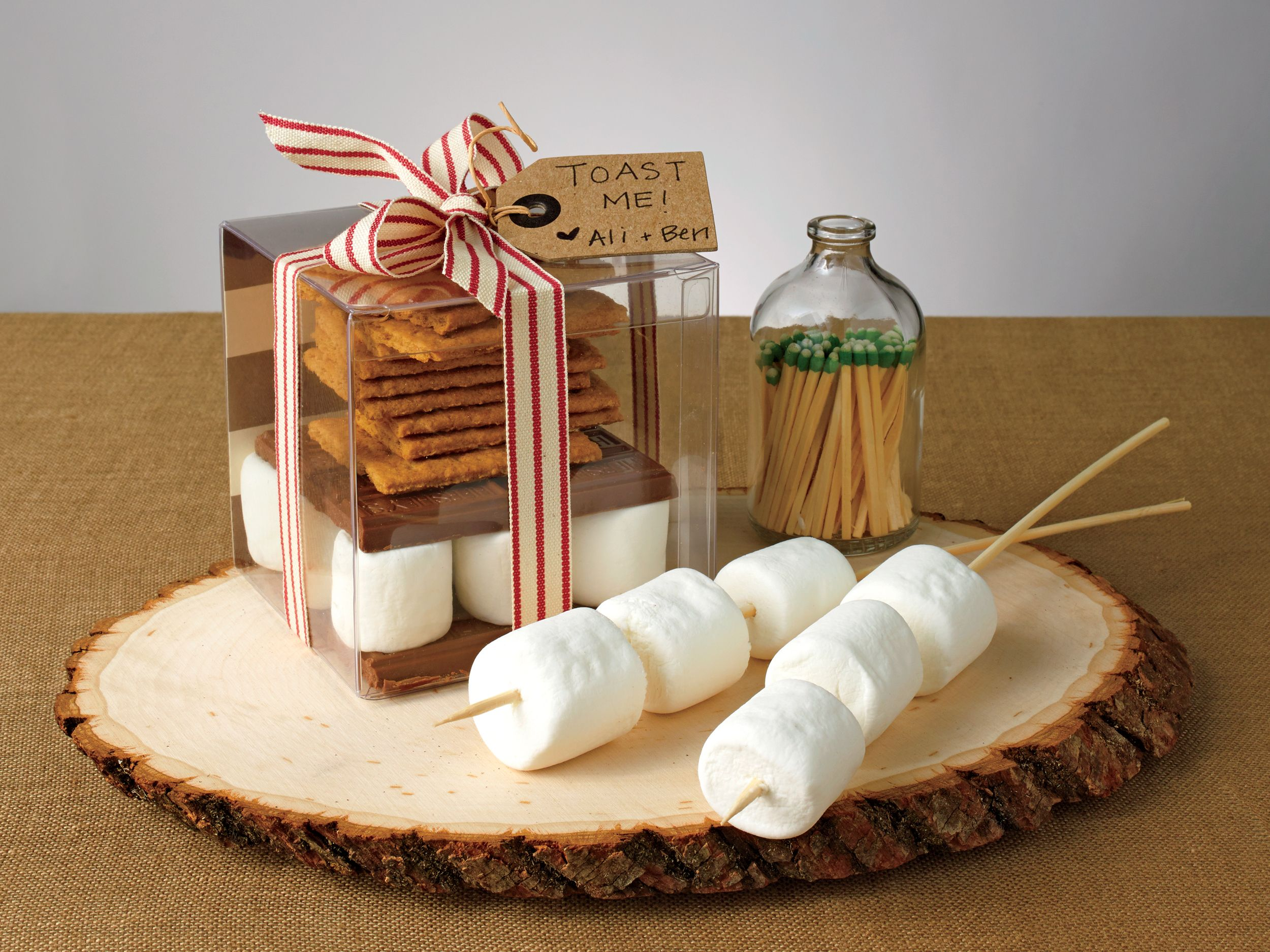 DIY This Smores Kit Wedding Favor In 4 Easy Steps