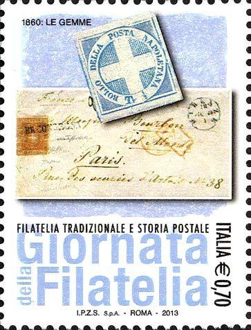 2013 - Giornata della filatelia -  Filatelia tradizionale e storia postale