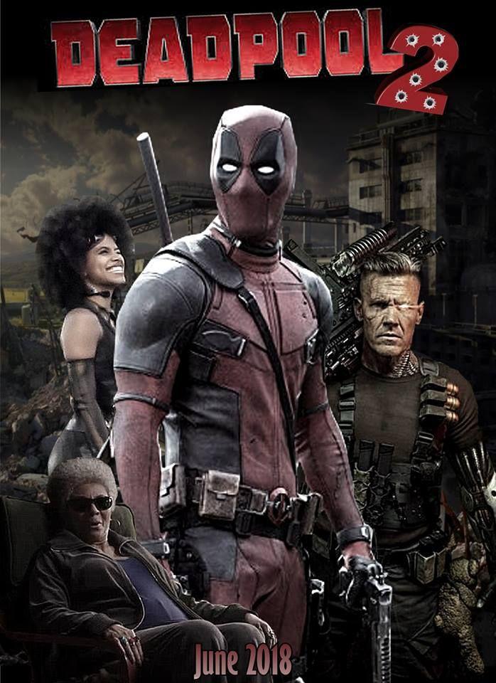 Deadpool 2 Poster Deadpool Marvel Comics Deadpool Deadpool 2 Movie