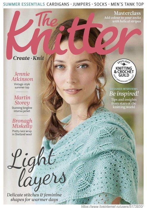 The Knitter №125 2018 | Stricken | Pinterest | Magazin ...