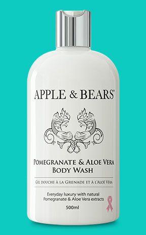 Apples and Bears - Pomegranate & Aloe Vera body wash £18