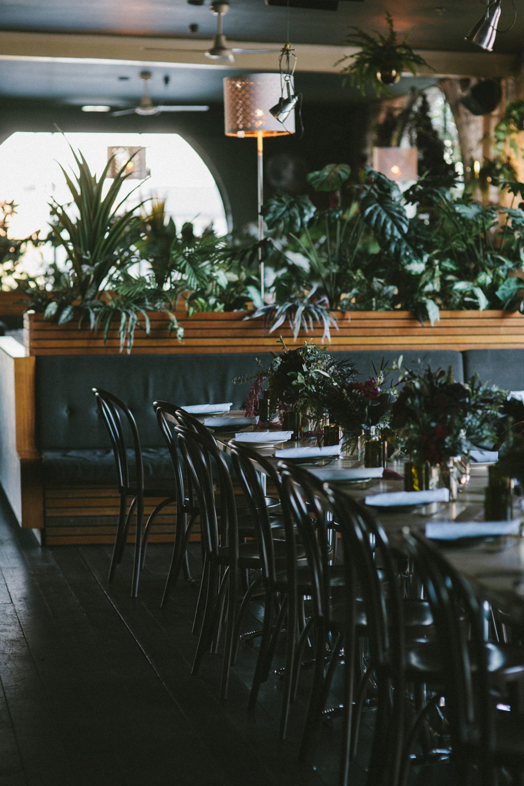 Moody Evening Wedding At Fitzroy's Panama Dining Room  Boho Custom Panama Dining Room 2018