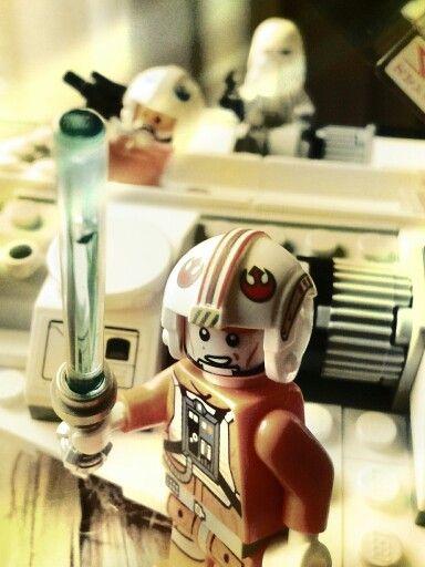 #starwars #lego #LukeSkywalwer