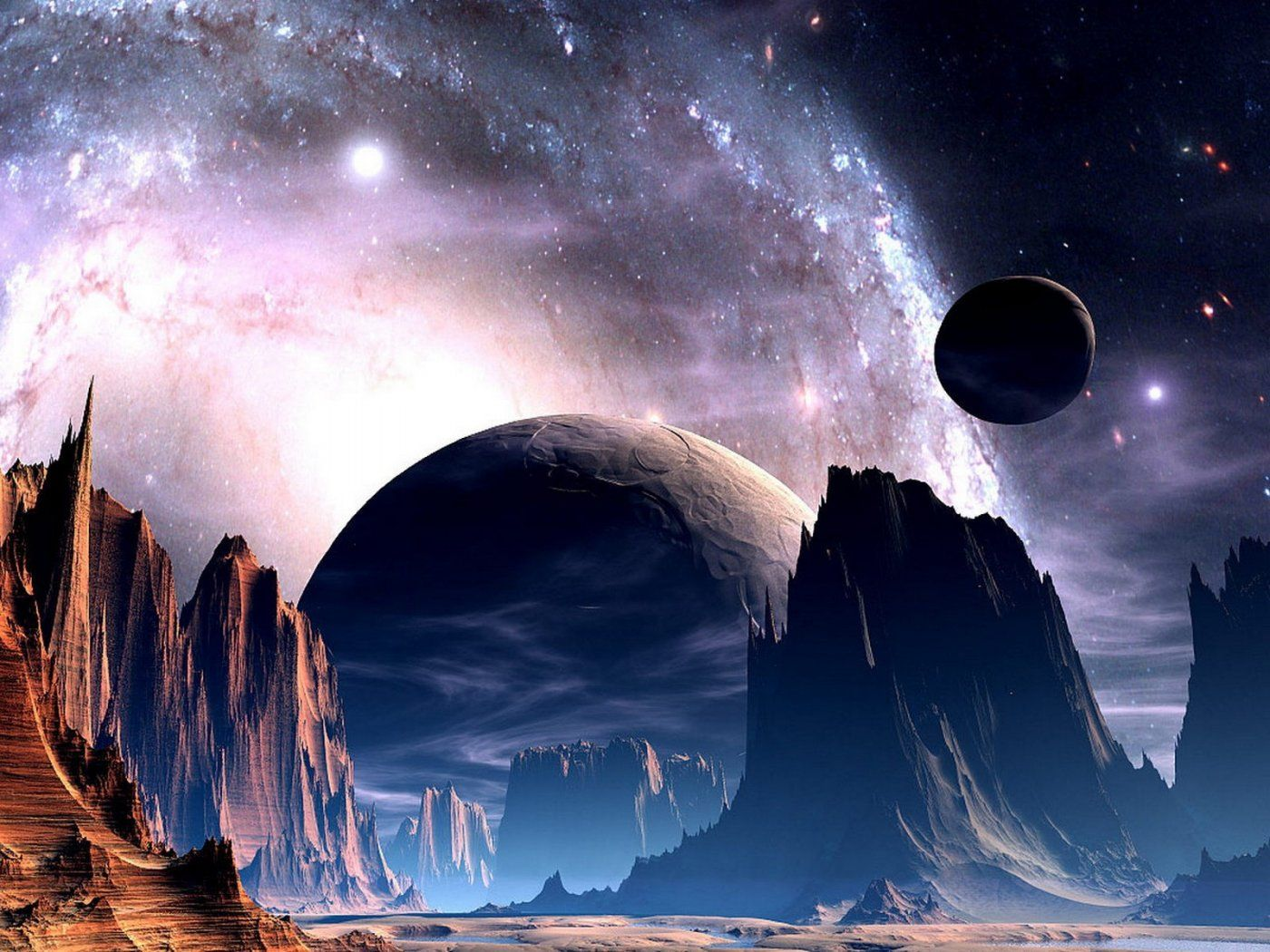 Image Detail For 3d Science Fiction Wallpapers Download Free More 3d Science Fiction Sci Fi Wallpaper Photography Backdrops Alien Planet