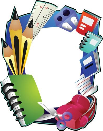 School frame vector design   FraMeS, BorDeRs, TemPLaTeS, TaGs ...