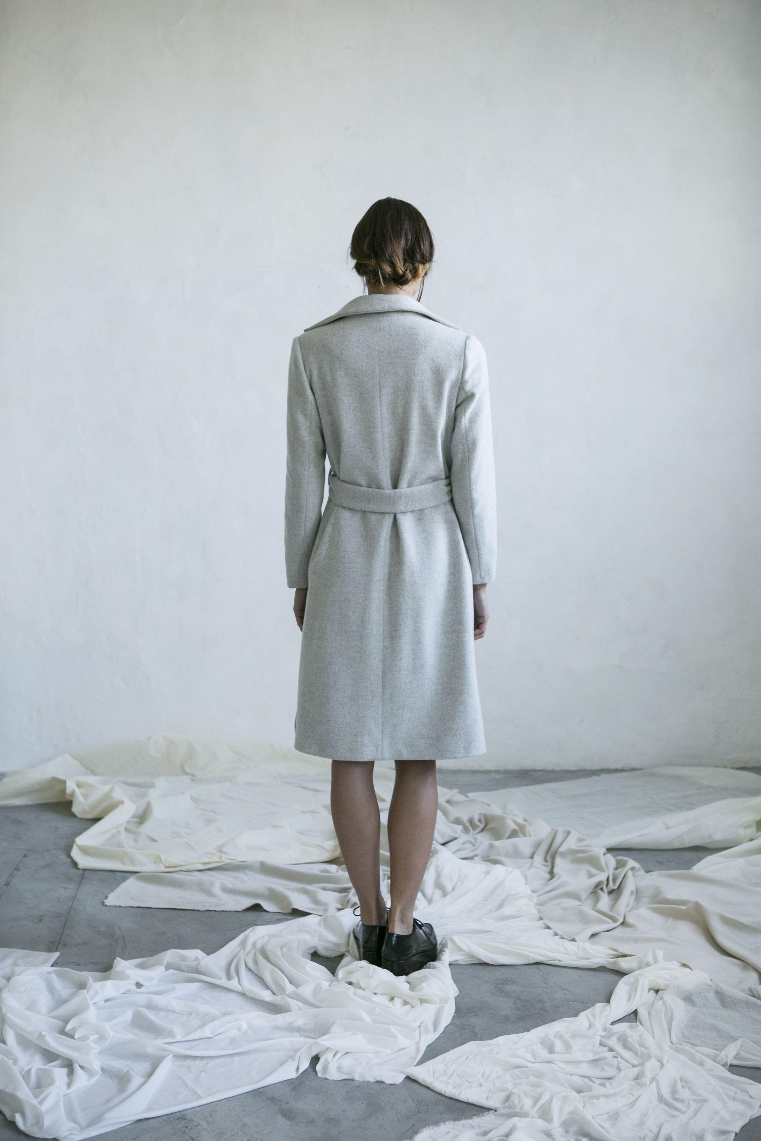 Wool coat Made in Barcelona