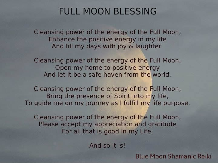 Full & new moon rituals