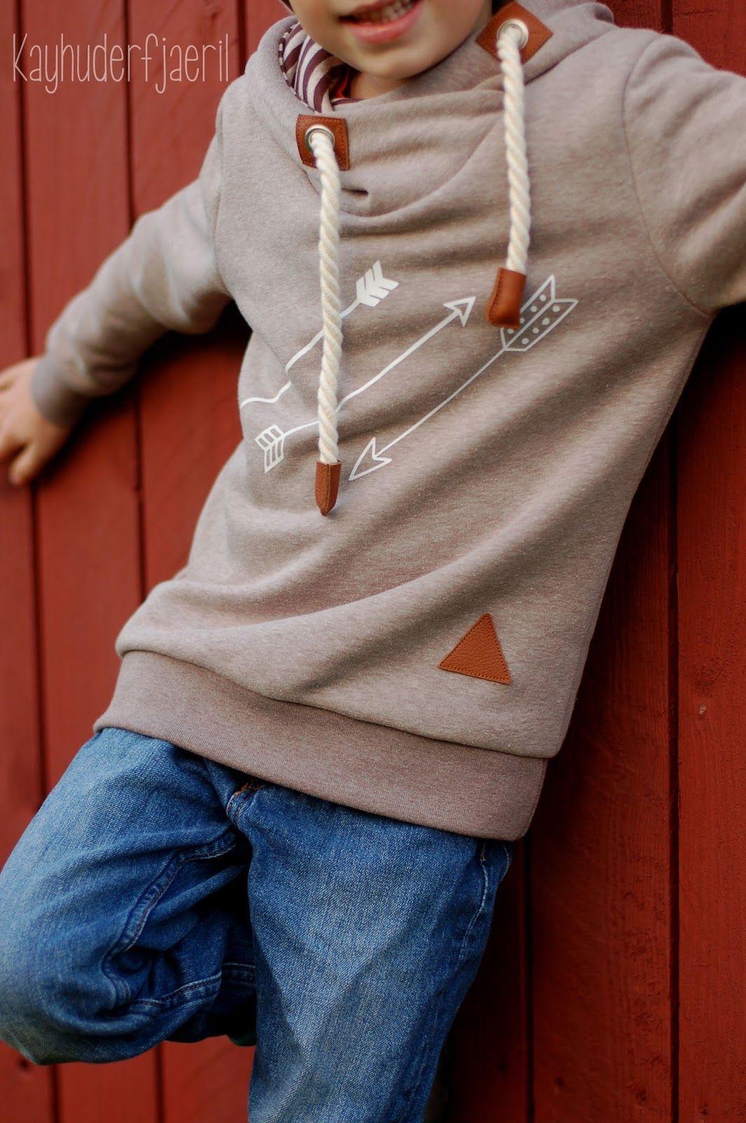 Hoodie Louis von kibadoo im Naketano Style :) | Kinder