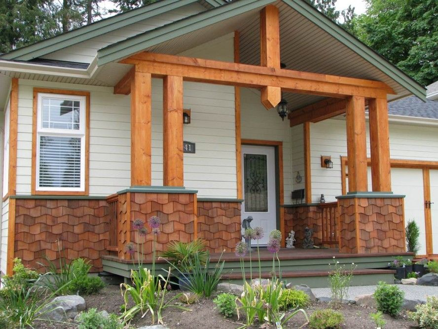 Nice natural design of the hardiplank cedar shake siding for Cedar siding house plans