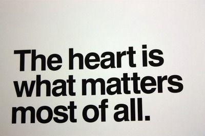 Y tú eres mi corazón :)