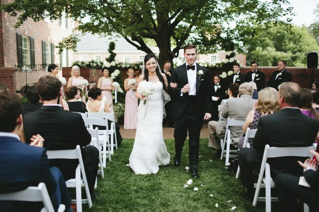 Erin McLean Events Carolina Inn Wedding Ceremony NC Planner