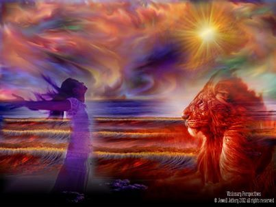 An encounter with Jesus. When I soak up the presence of God as I listen in quietude, It is where I feel loved  great… | Prophetic art, Prophetic art worship, Art