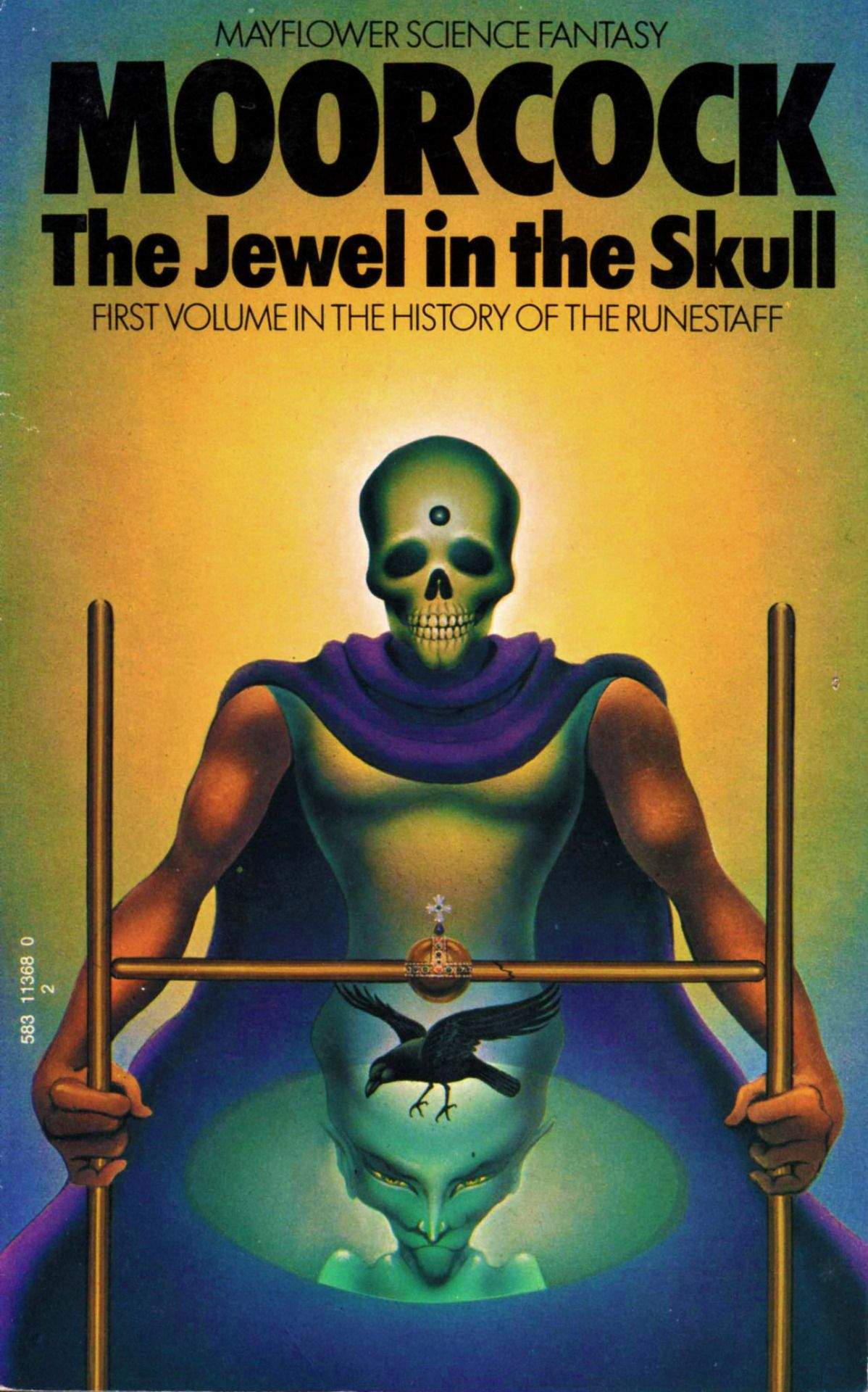 Michael Moorcock's Vintage Scifi Book Covers