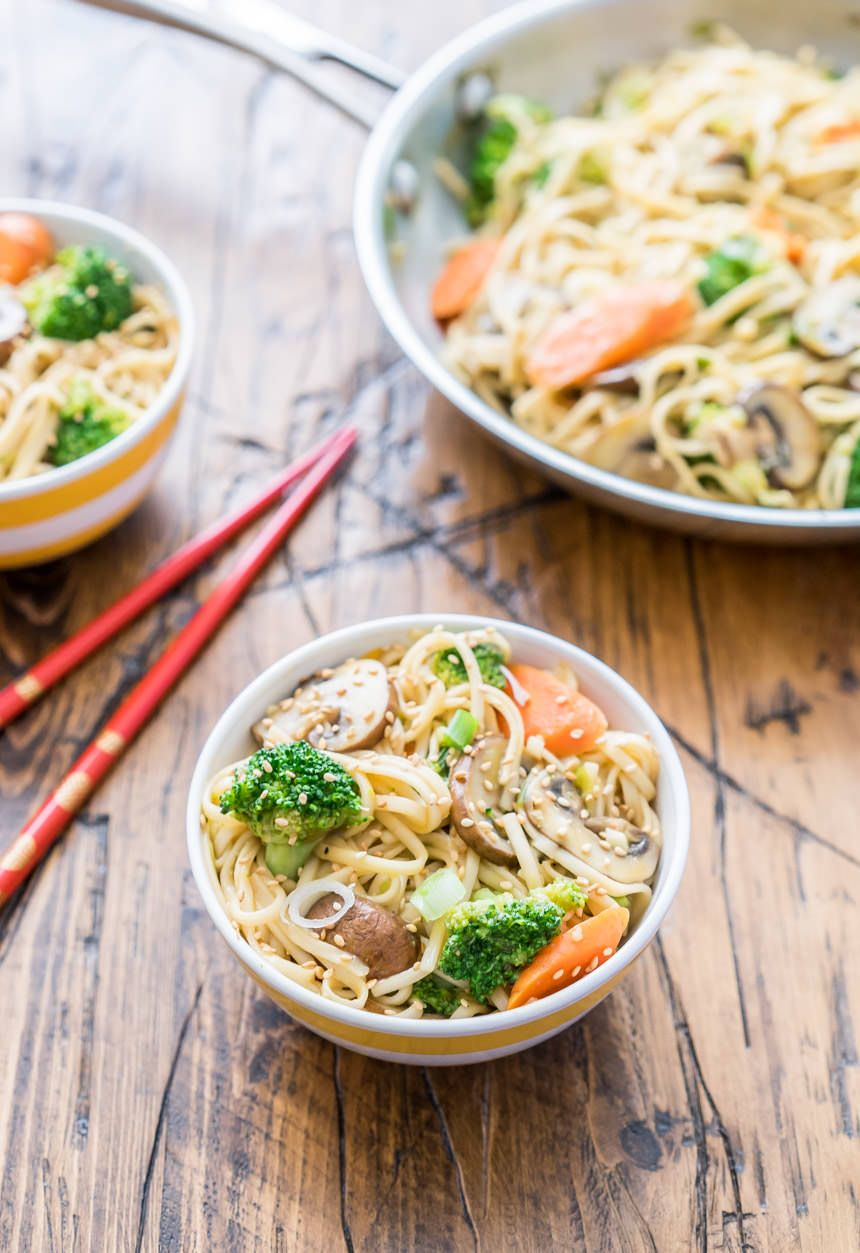 Udon Noodle Recipe With Sesame Broth Recipe Healthy Noodle Recipes Udon Noodles Recipe Veggie Noodles Recipes