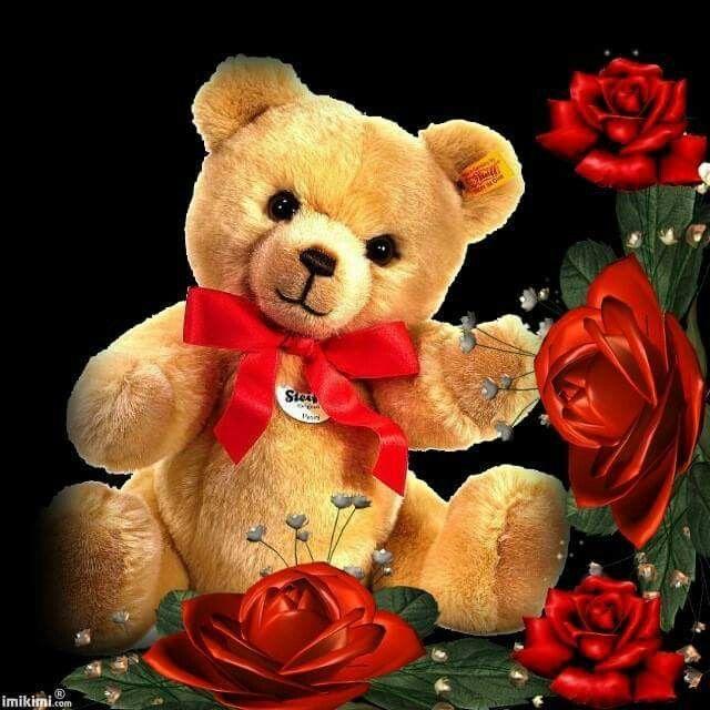 Poemas De Amor Osos Rosas Y Corazones Pin De Joel Aguilar En Osos De Peluche Saludos De Buenos Dias