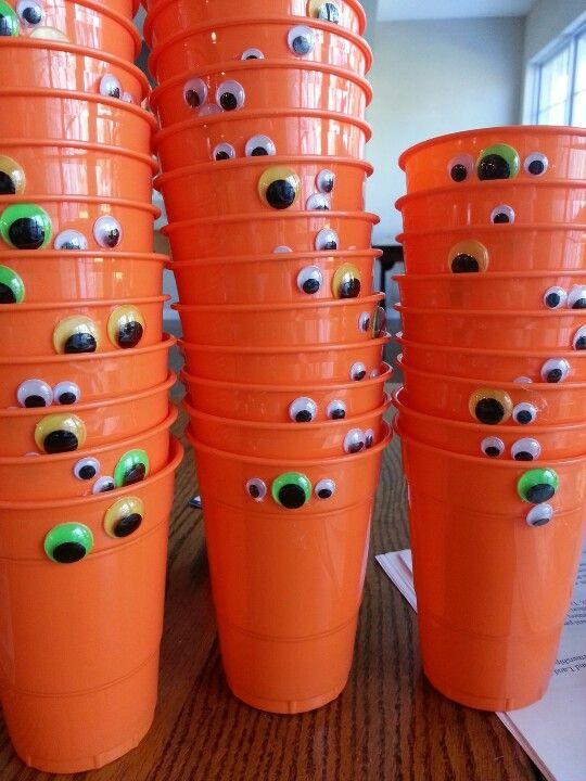Halloween cups!!