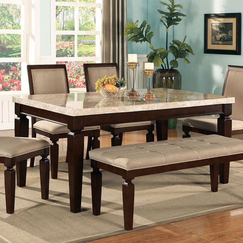 Agatha White Marble Top Dining Table Marble Top Dining Table