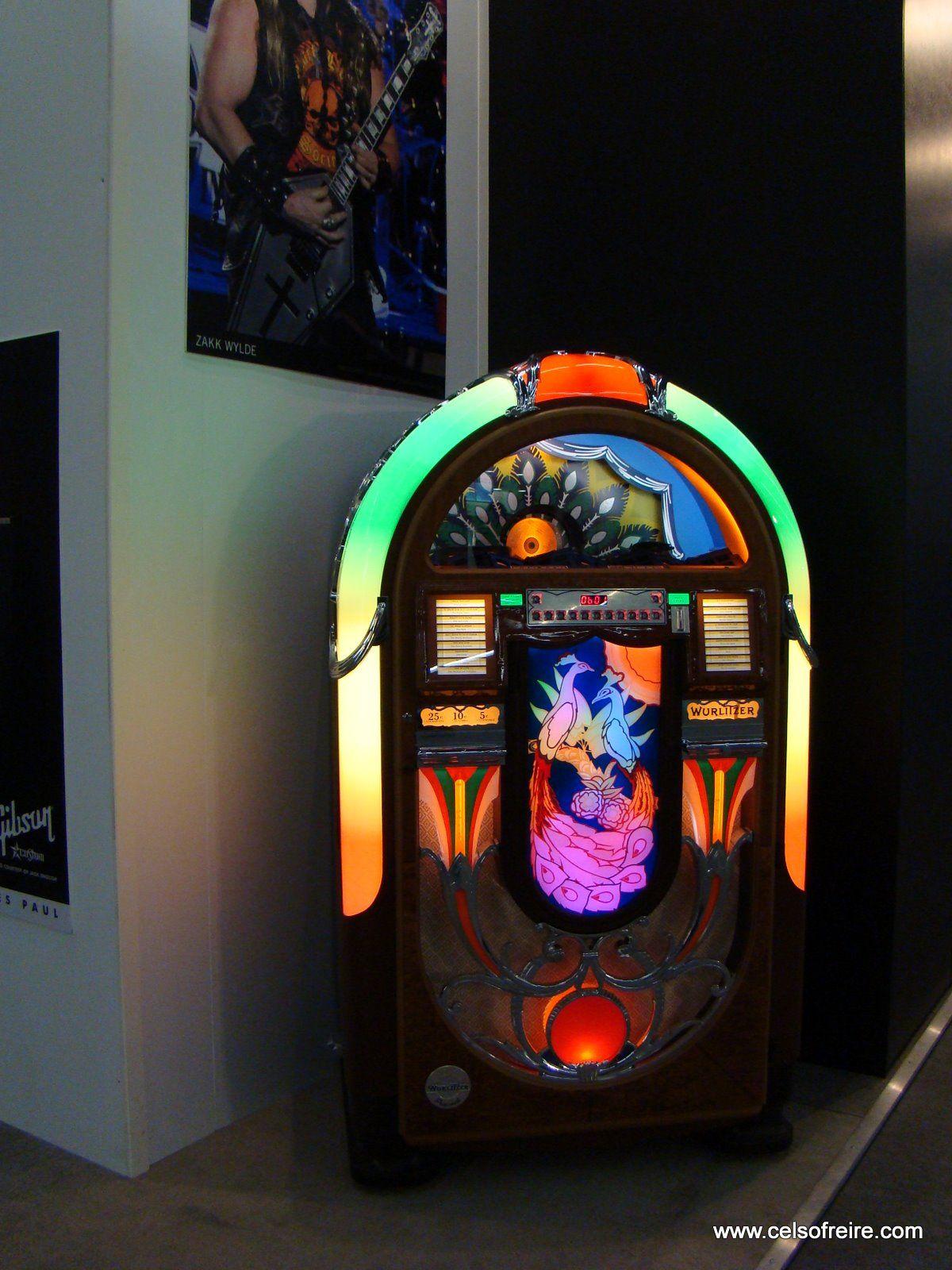 Jukebox! Wurlitzer peacock | LIGHT UP THE MUSIC!! JUKEBOXES