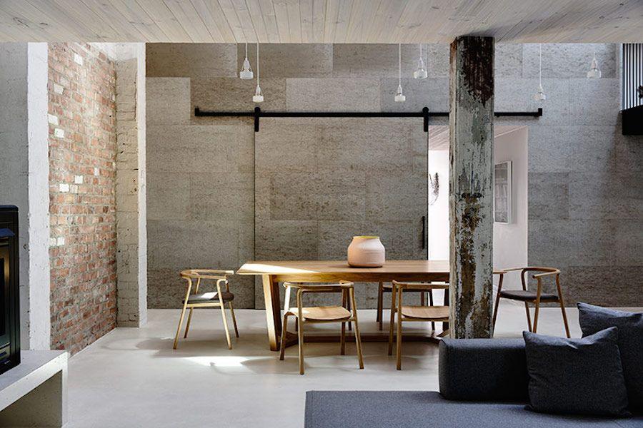 architects eat for industrial loft melbourne industrial loft