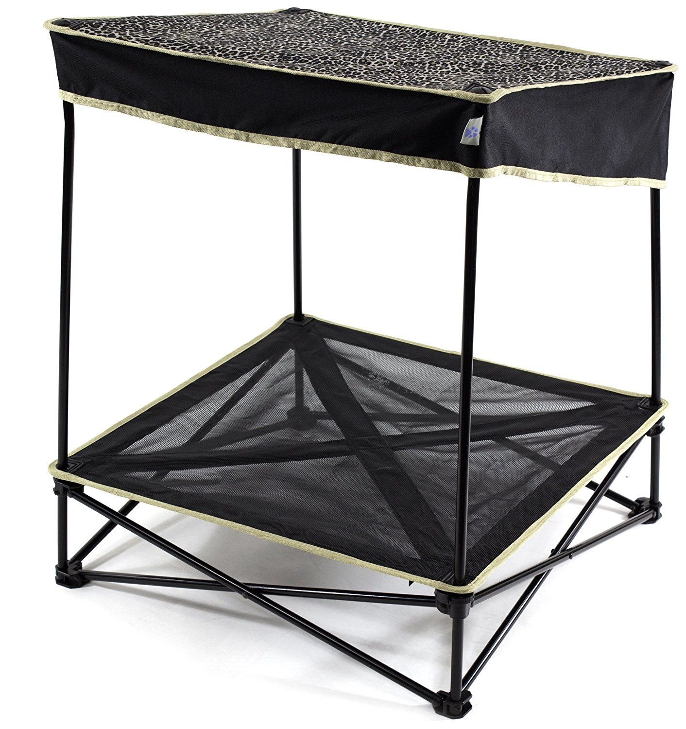 Quik Shade Outdoor Instant Pet Shade with Elevated Mesh