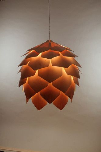 Crimean Pinecone Lamp