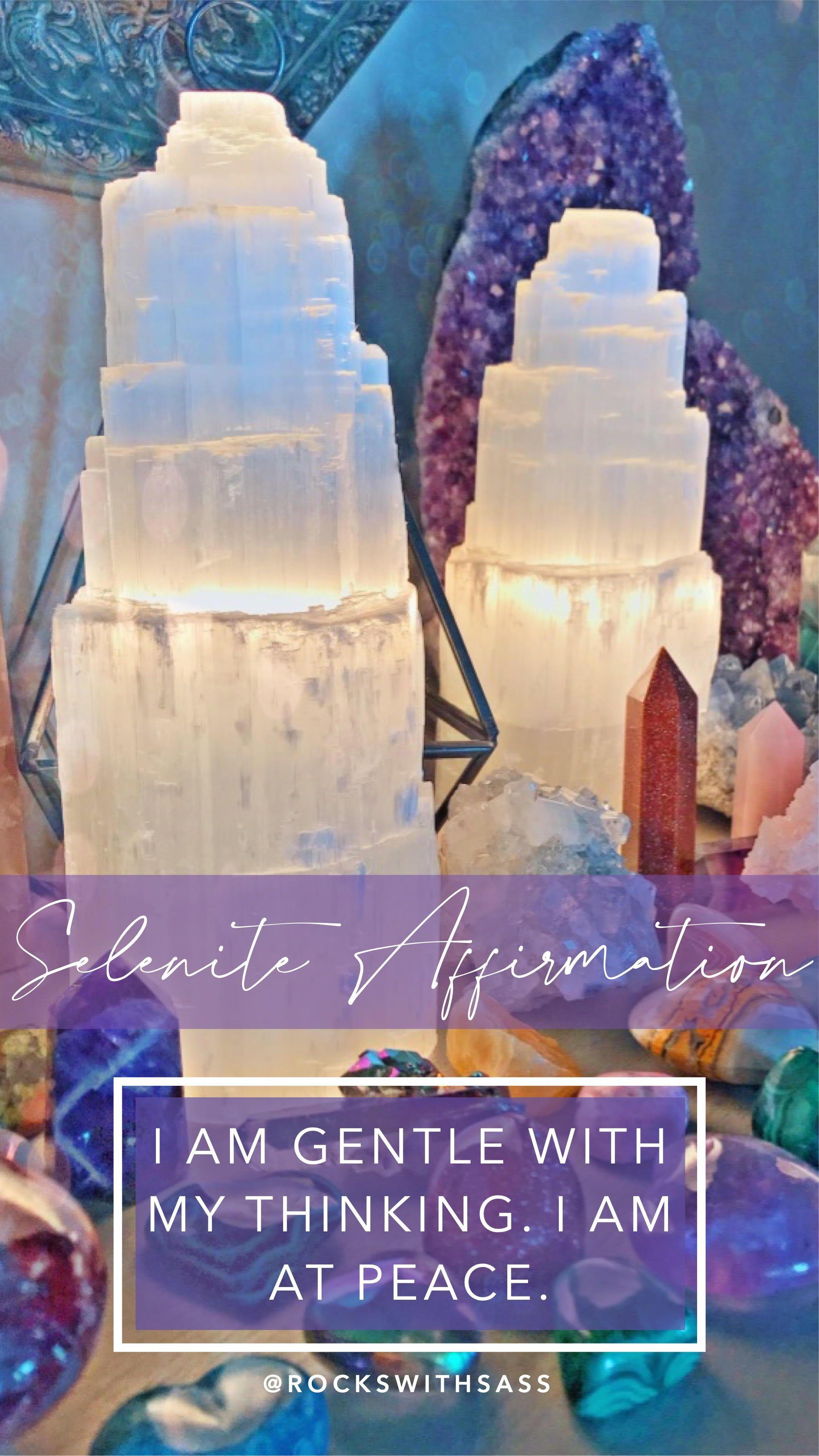 Selenite Keywords Gentleness Meditation Inner Child Selenite Peace Gifts Etheric Body