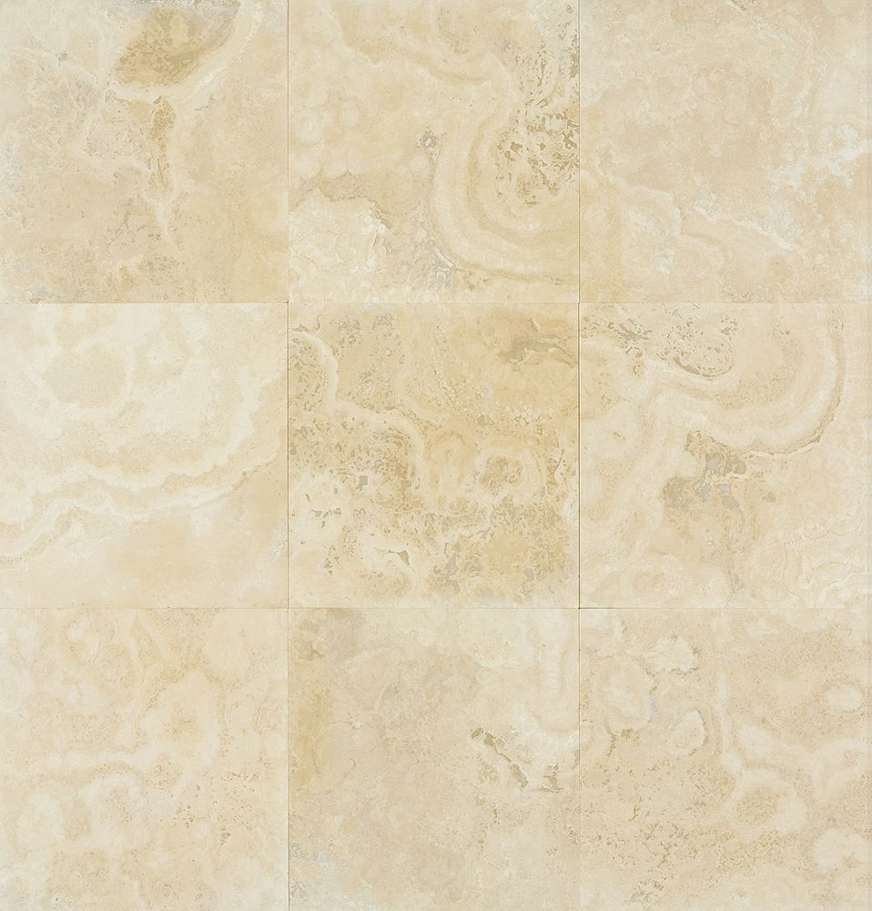 honed and filled matt beige travertine tile heated tile floor